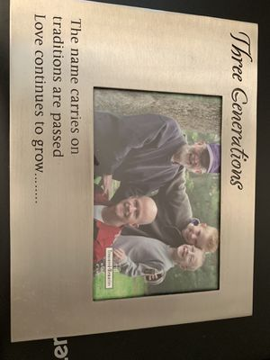 Three generation picture frame for Sale in Arlington, VA