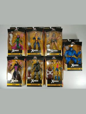 Marvel Legends Complete Set of 7 Collectible Action Figure Toys with Pieces to Build Caliban ( Various Prices down Below ) for Sale in Chicago, IL