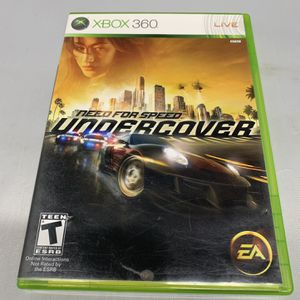 Need For Speed Undercover For Xbox 360 Complete CIB Video Game for Sale in Camp Hill, PA
