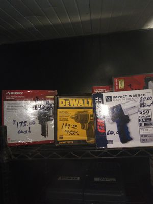 Air impact wrench guns for Sale in Gibsonton, FL
