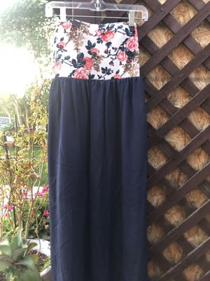 Long To Toe Floral Navy Dress for Sale in Phoenix, AZ