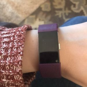 Fitbit charge 2-purple band for Sale in Nashville, TN