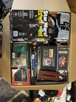 Ultimate Star Wars Collectors Box!!!! Large. for Sale in Oviedo, FL