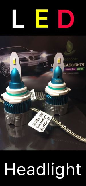 2019 New series 9006 HB4 LED Headlight Bulb Kit Low Beam Fog Light 60W 6000K 7600LM US brand#GreenBoat for Sale in La Palma, CA