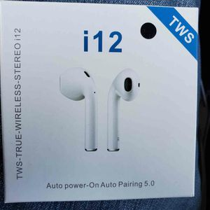 12 TWS Bluetooth Earphones Touch Control Built-in Mic Auto-pairing Hands-free Headset Headphone Earbud with HIFI Sound for Sale in Arlington, TX