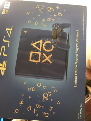(Limited edition) days of play PS4 -1TB for Sale in Long Beach, CA