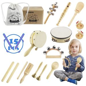 15 piece wooden musical Instrument set NEW for Sale in Beacon Falls, CT