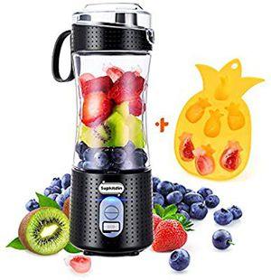Portable Blender Personal Mixer Fruit Rechargeable USB Mini Smoothie Fruit Juice Milk Shakes, for Sale in Marquette, MI