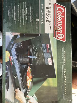 Coleman 2 burner propane stove for Sale in Manchester, CT