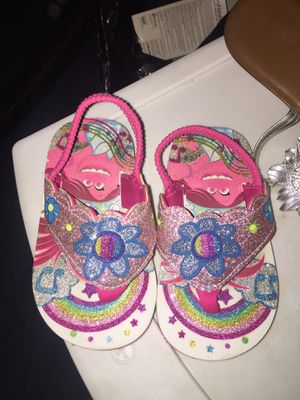 Trolls Poppy sandals for Sale in Dallas, TX
