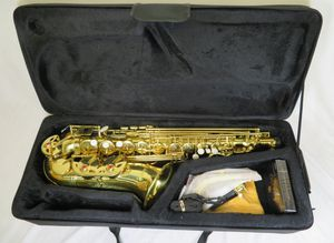 Mendini by Cecilio Alto Saxophone E Flat MAS-L Gold Lacquer Brass w/ Case for Sale in Fort Lauderdale, FL