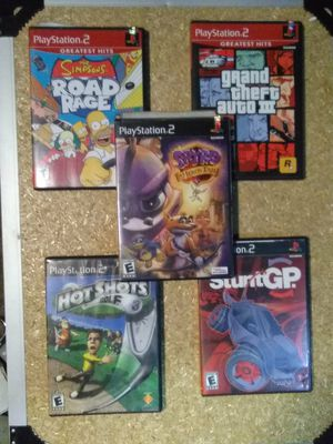 PS2 games for Sale in Lake Stevens, WA