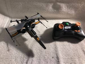 Used, Air hog Poe's boosted x-wing fighter drone w/ controller for Sale for sale  Livermore, CA