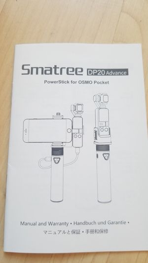 smatree powerstick for osmo for Sale in Upland, CA