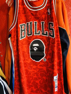 Bape bulls jersey for Sale in Grandview, MO