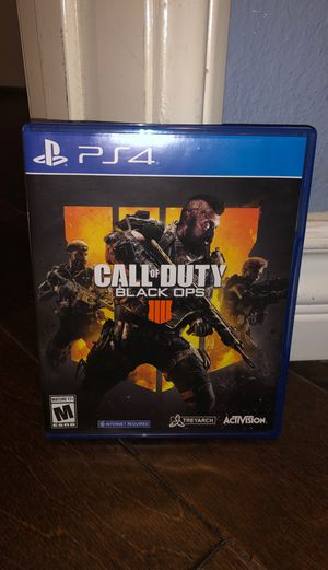 Call of Duty: Black Ops 4 for Sale in Rancho Cucamonga, CA