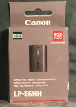 CANON BATTERY PACK LP-E6N for Sale in San Marcos,  CA