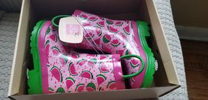 Toddler rain boots 7-8 for Sale in Silver Spring, MD