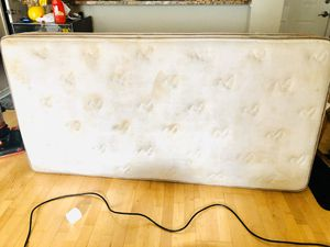 Serta Twin full mattress . Washed . for Sale in McLean, VA