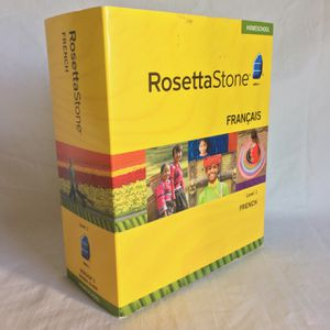 Rosetta stone homeschool French level one with USB headphones for Sale in Centreville, VA
