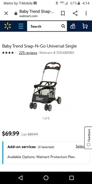 Baby trend snap and go stroller for Sale in Paramount, CA
