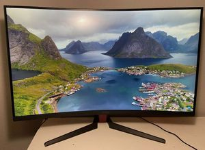 """MSI 32"""" Curved Gaming Monitor - 1080p / 1ms / 165Hz / Optix AG32C / AMD FREESYNC for Sale in Kenmore, WA"""