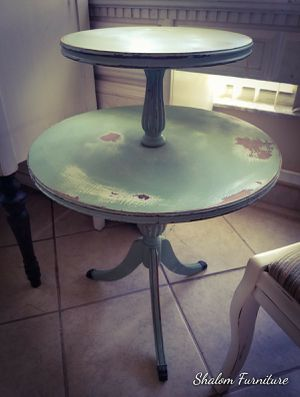 Two tear antique table for Sale in Palm Beach, FL