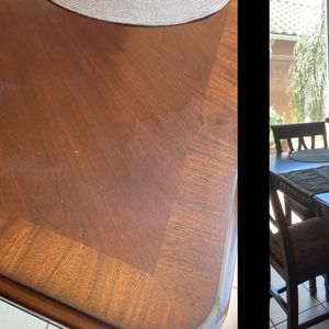 Dining table Almost new, just a spot on the corners pay by cash or PayPal only for Sale in Fresno, CA