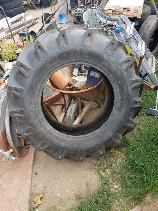 Farm Tire BKT TR-135 Size 14.9-26