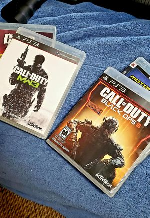 """4 PS3 games """"Call of Duty"""" for Sale in Massillon, OH"""