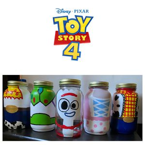 Toy story 4 Mason Jars for Sale in Rowland Heights, CA