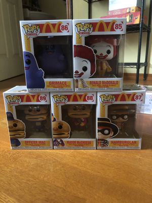 Funko Pops McDonalds Complete Set Of 5 BRAND NEW for Sale in Portland, OR