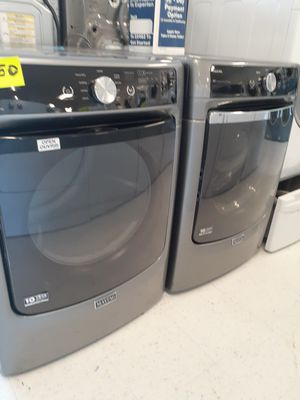 🔥🔥maytag washer and electric dryer set in excellent condition 90 days warranty 🔥🔥 for Sale in Mount Rainier, MD