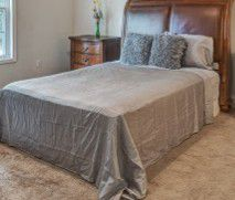Sleigh bed frame for Sale in Asheville, NC