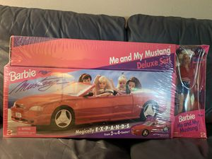 Barbie Ford Mustang Expandable Convertible Deluxe Edition /with Barbie for Sale in Boring, OR