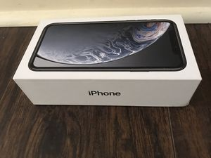 iPhone XR Box Only - Black 64GB for Sale in Lincoln Park, NJ