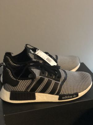 Adidas Nmd Black and white Mens size 12 for Sale in Ruskin, FL