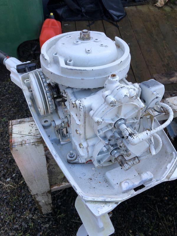 Sears Gamefisher 9.9 HP 2 Stroke Boat Motor