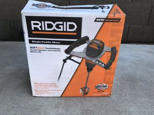 RIDGID Single-Paddle Mixer for Sale in Phoenix, AZ