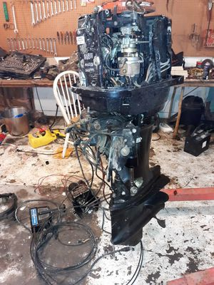 Boat motor, trailer, an parts for Sale in Rome, GA
