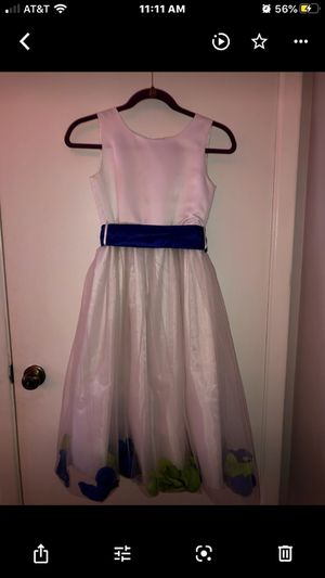 white flower girl dress for Sale in Arlington Heights, IL