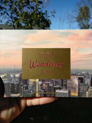 WANDER BEAUTY WANDERESS RUSH EYESHADOW PALETTE ➖ ORIGINALLY; $25 for Sale in Stockton, CA