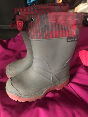 Kids rain boots by Kamik for Sale in Baldwin Park, CA