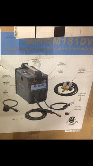 New In Box Cornwell Welder, Plasma Cutter, Helmet and Cart for Sale in Phoenix, AZ