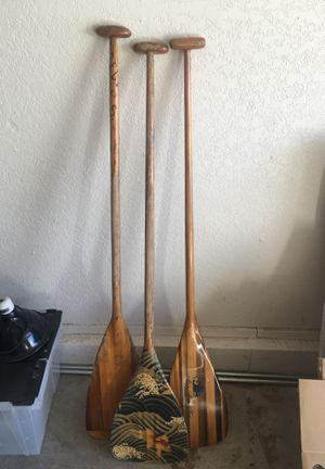 Canoe paddles for Sale in Salinas, CA