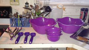 Purple Kitchen Set for Sale in Lake Wales, FL