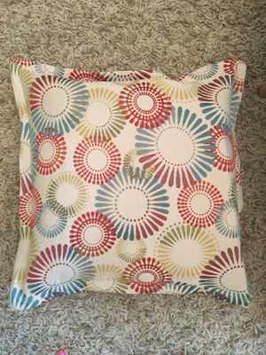 Pillow with removable cover for Sale in Raleigh, NC