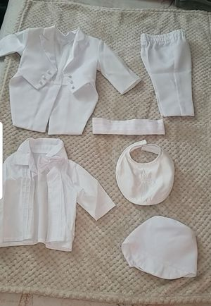 Baby Boy Christening/Baptism 6 piece set for Sale in Palm Springs, FL