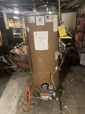 40 Gallon water heater - oil for Sale in Medford, MA