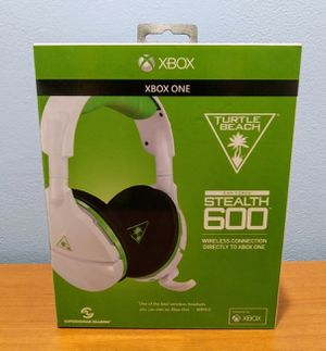 TURTLE BEACH STEALTH 600 XBOX ONE WIRELESS HEADSET for Sale in Fullerton, CA